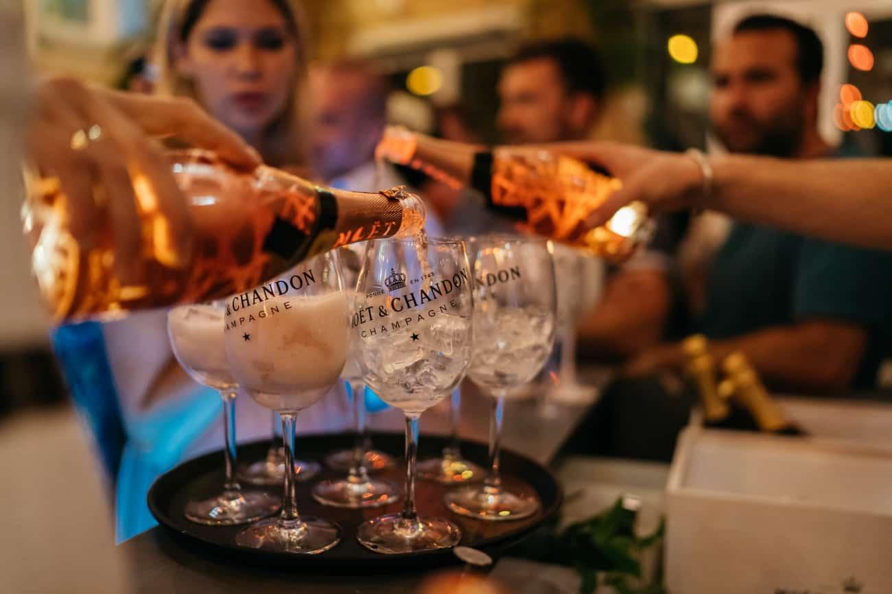 Moet Champagner Eventfotogaf Muenchen Event